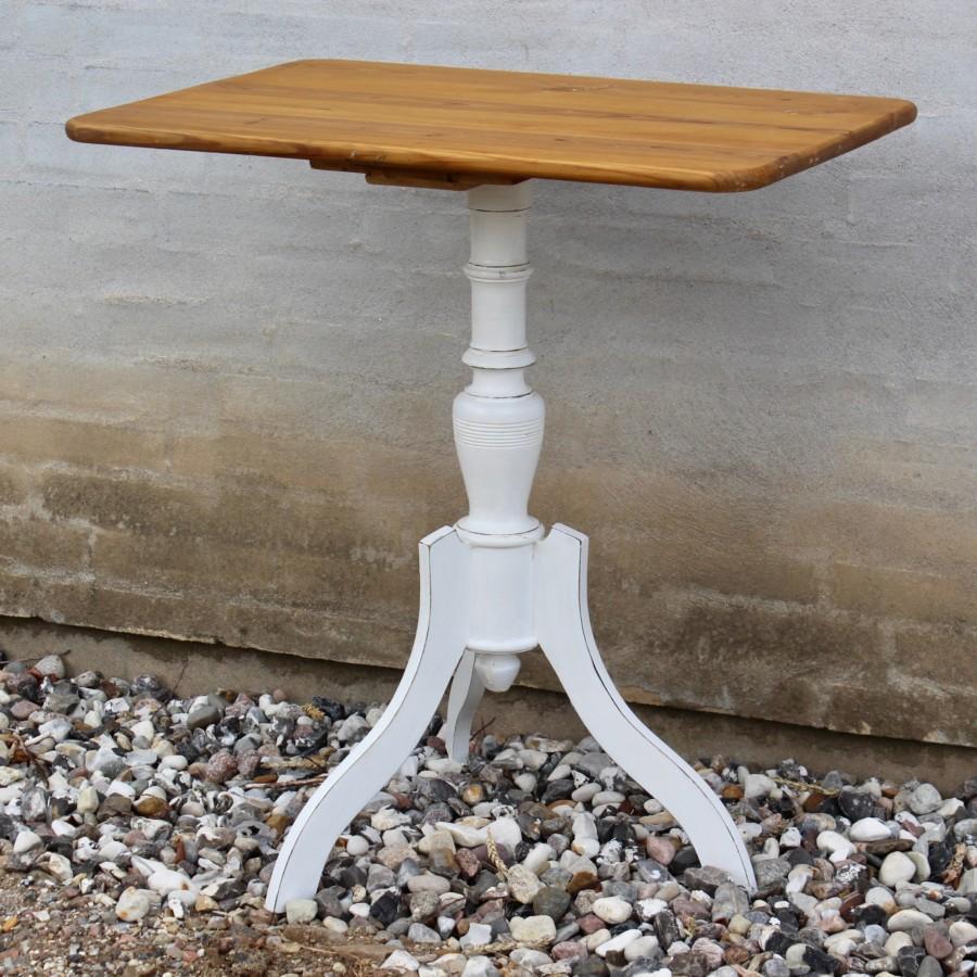 Pedestalbord-bord-gammelt-antikt-hvid