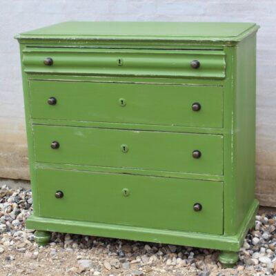 Kommode-gammel-antik-rustik-grøn
