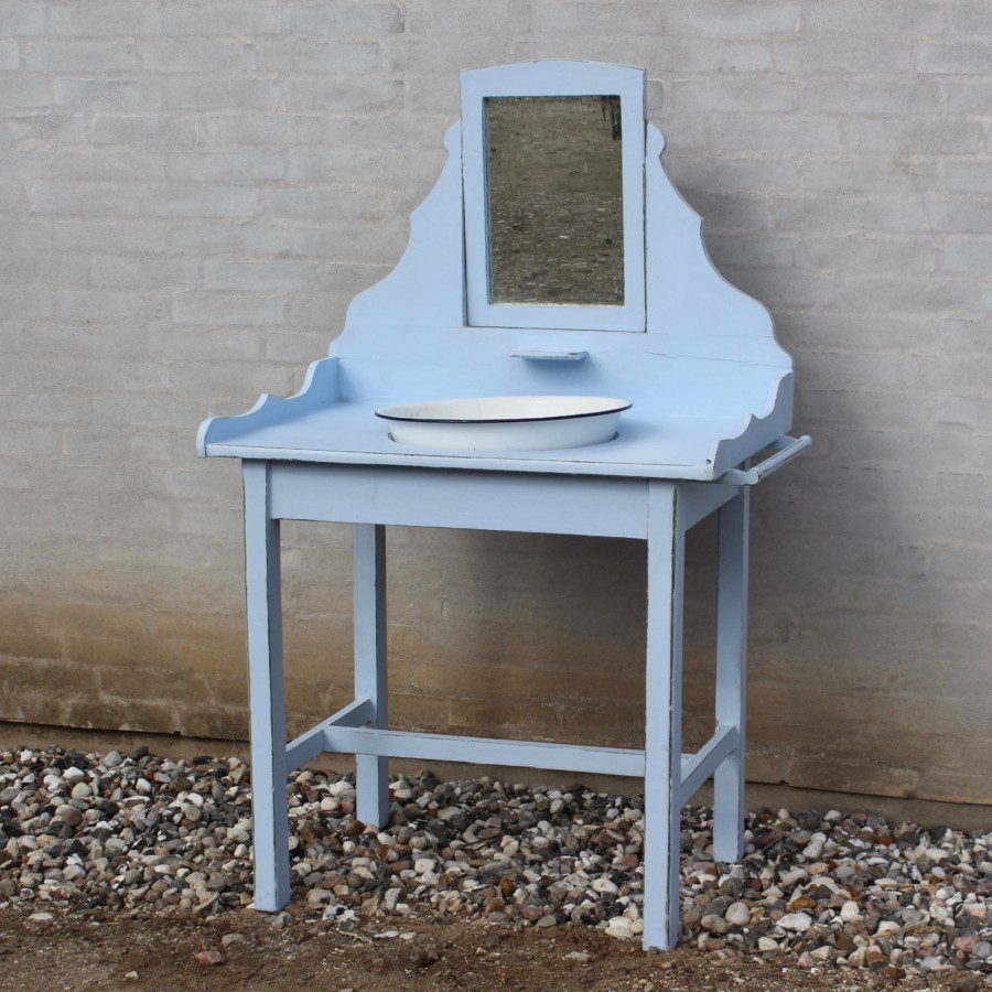 Toiletmøbel-gammelt-antikt-blå